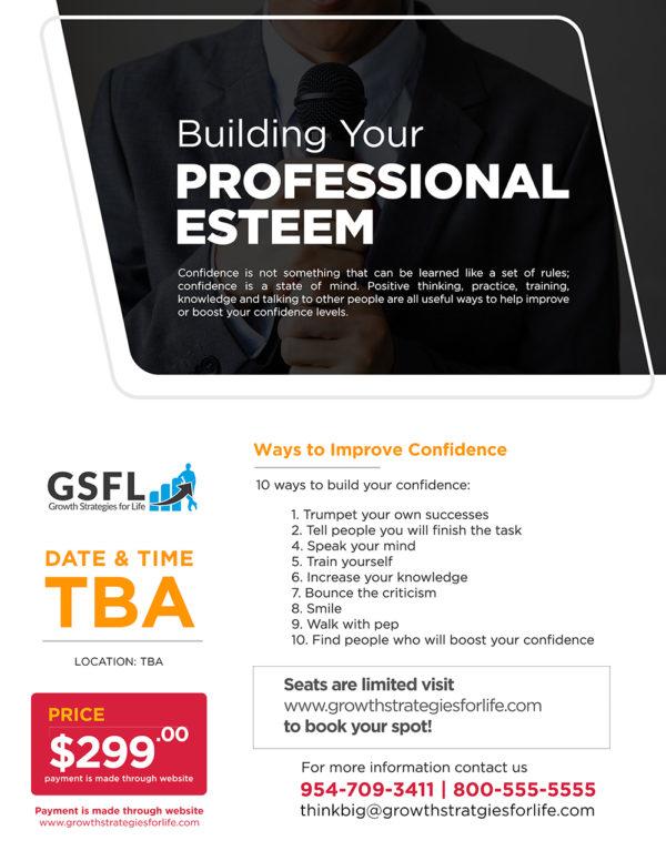 Building Your Professional Esteem