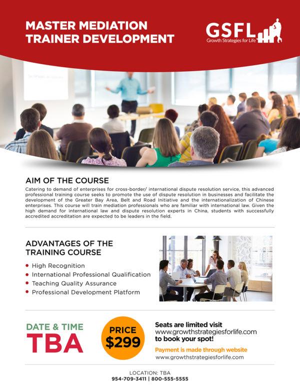 Master Mediation Trainer Development01
